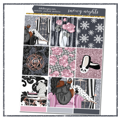 Snowy Nights - Foil Kit
