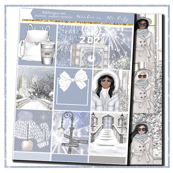 Winter in The City - Foil Kit - DEK Designs