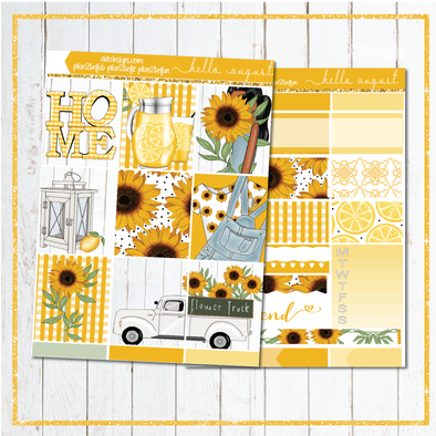 Hello August - Kit - DEK Designs