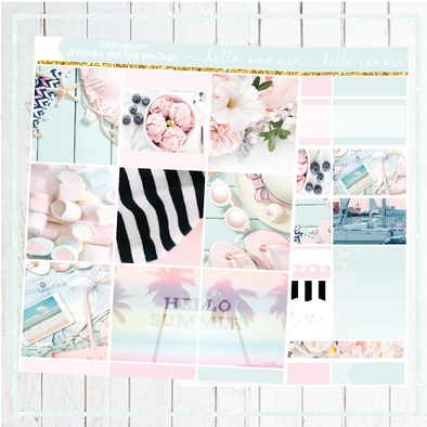 Hello Summer- Kits - DEK Designs
