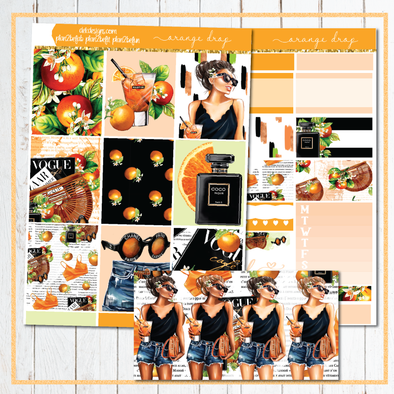 Orange Drop - Kit - DEK Designs