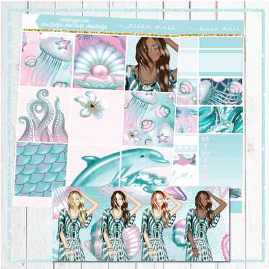 Ocean Muse- Kits - DEK Designs