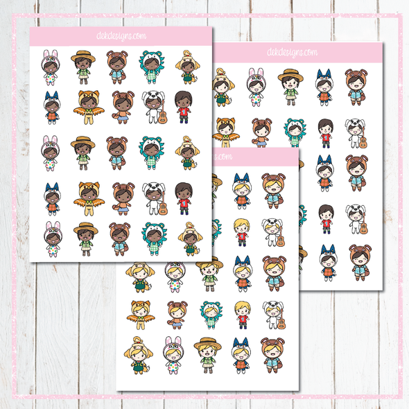 Chloe Animal Crossing - DEK Designs