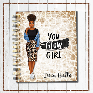You Glow Girl Planner Cover - DEK Designs