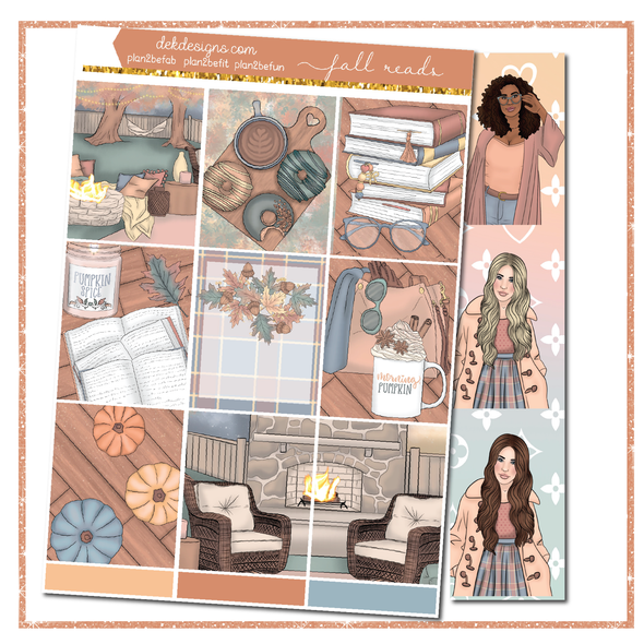 Fall Reads- Foil Kit - DEK Designs