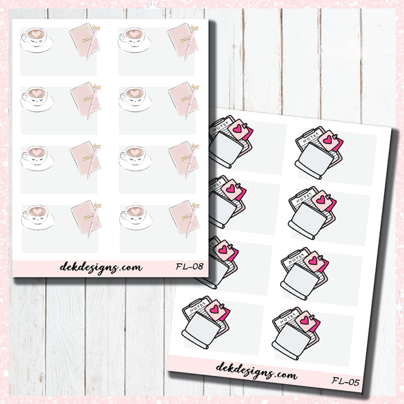 ss Flat Lay Notes - DEK Designs