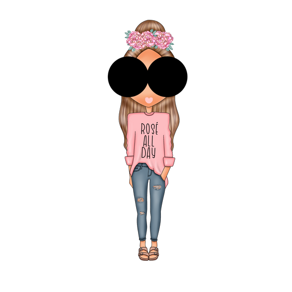 Elle Fashion Girls - Rose All Day - DEK Designs
