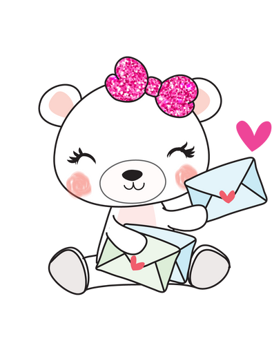 Boo Bear Happy Mail - DEK Designs