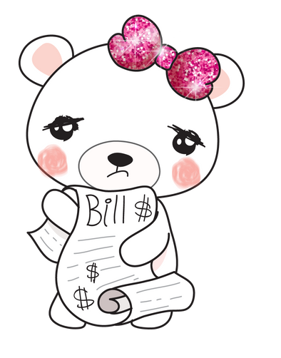 Boo Bear Bills - DEK Designs