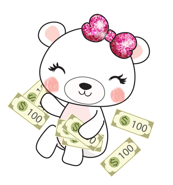 Boo Bear Payday - DEK Designs