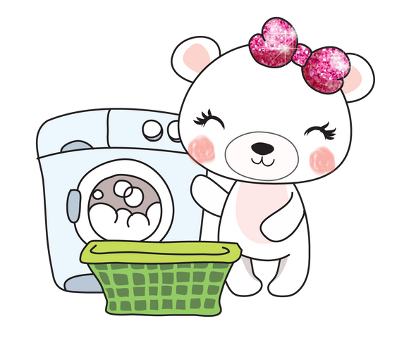 Boo Bear Laundry - DEK Designs