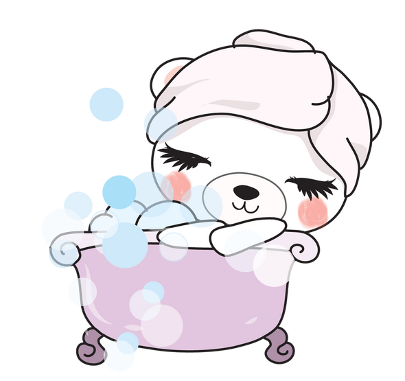 Boo Bear Bath - DEK Designs