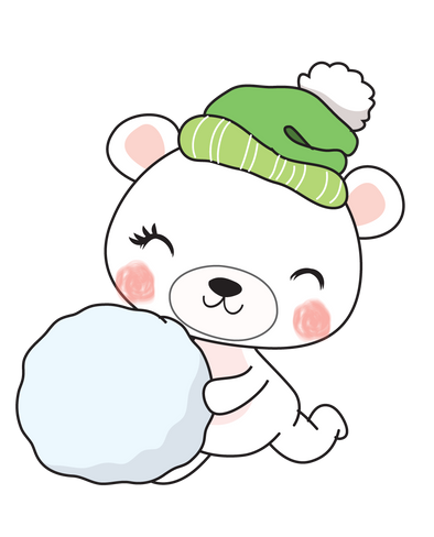 Boo Bear Snowball - DEK Designs
