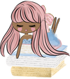 Pretty Dolls - Fantasy Book Lover - DEK Designs
