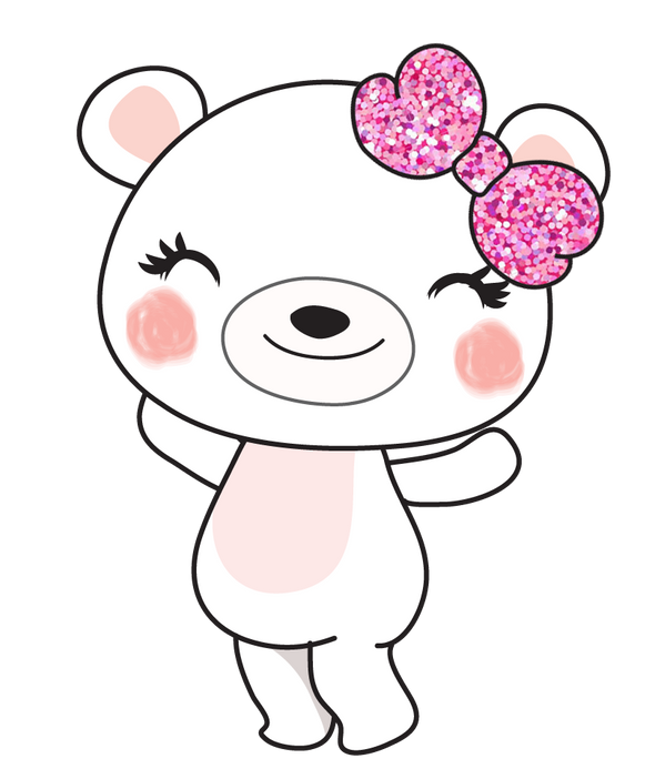 Boo Bear Happy - DEK Designs
