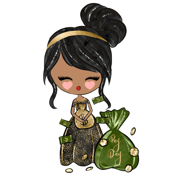 Pretty Dolls - Pay Day - DEK Designs