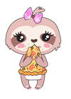 Sadie the Sloth Cheat Meal - DEK Designs