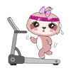 Sadie the Sloth Gym Time - DEK Designs