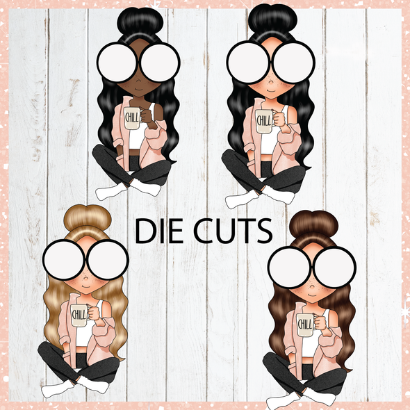 Introvert - Die Cuts - DEK Designs