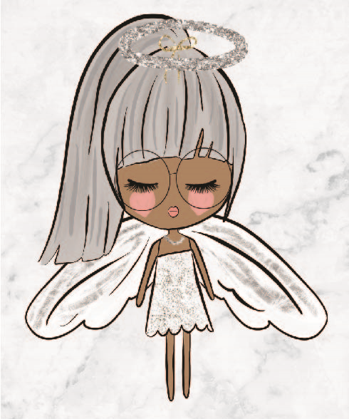 Pretty Dolls - Angel - DEK Designs