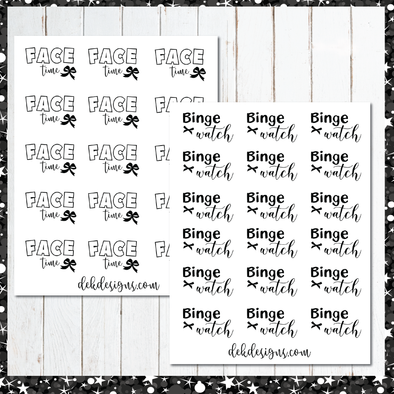 Foil Script Hump Day Specials - DEK Designs