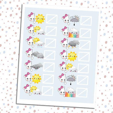 Boo Bear Weather Trackers - DEK Designs