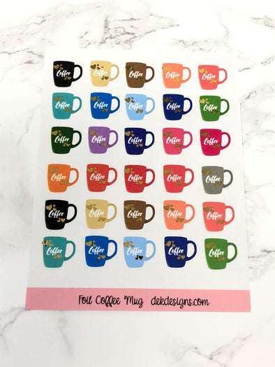 Foil Coffee Cups - DEK Designs