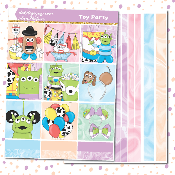 Toy Party - DEK Designs