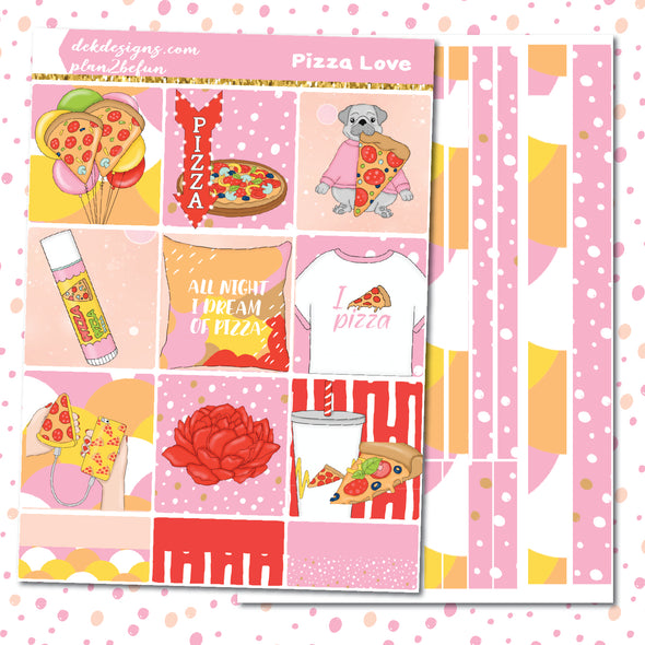 Pizza Love - DEK Designs