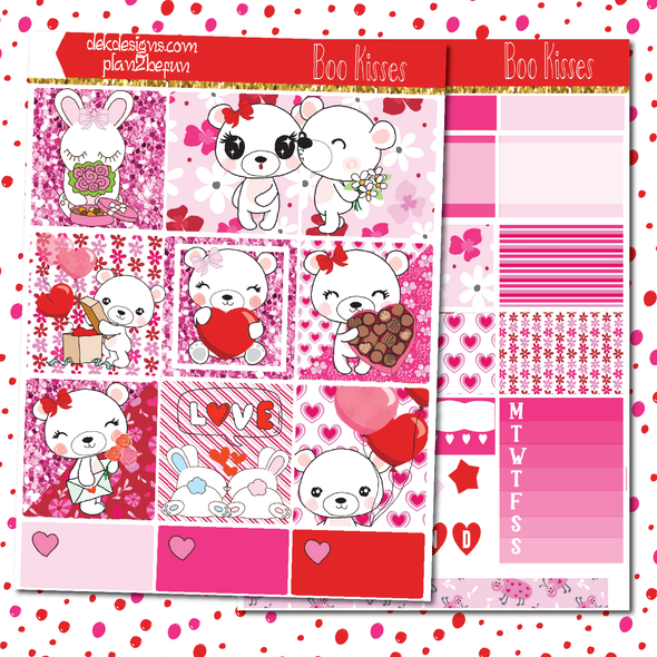 Boo Kisses - plan2befun - DEK Designs