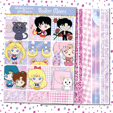 Sailor Moon - DEK Designs