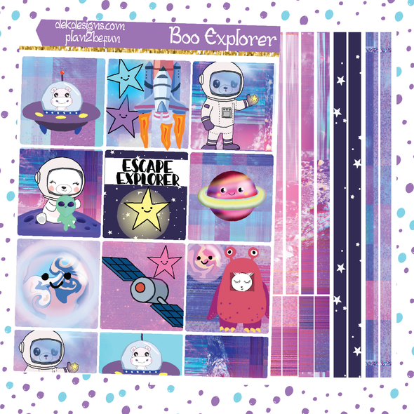 Boo Explorer - DEK Designs