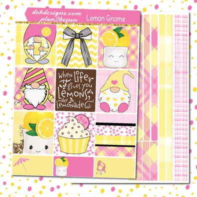 Lemon Gnomes - DEK Designs