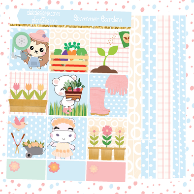 Boo Summer Garden - DEK Designs