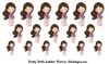 Pretty Dolls - Fashion Planner Girl