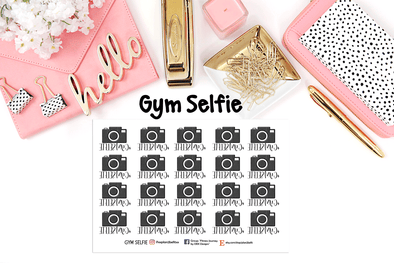 Gym Selfie - DEK Designs