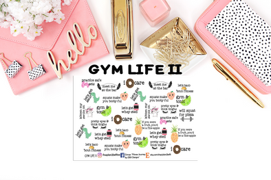 GYM LIFE II - DEK Designs