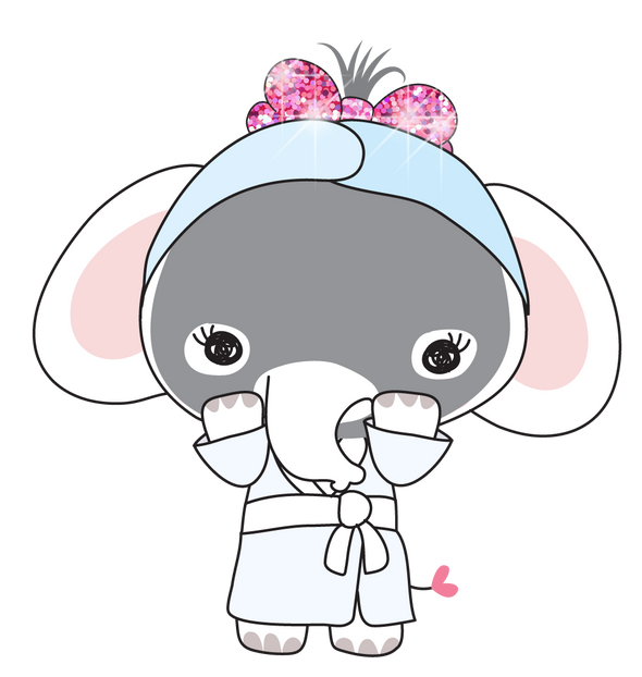 Elle The Elephant Me Time - DEK Designs