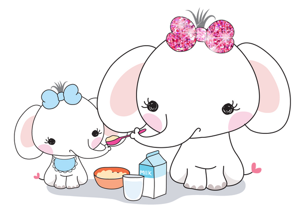 Elle The Elephant Mommy & Me - DEK Designs