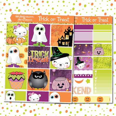 Trick or Treat - DEK Designs