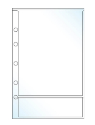 Sticker Binder with 50 Inserts has overlay on outside - DEK Designs