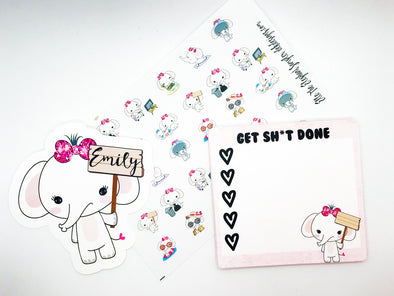 Elle The Elephant Custom Bundle - DEK Designs