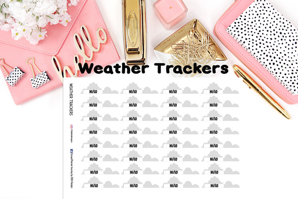 Weather Trackers - DEK Designs