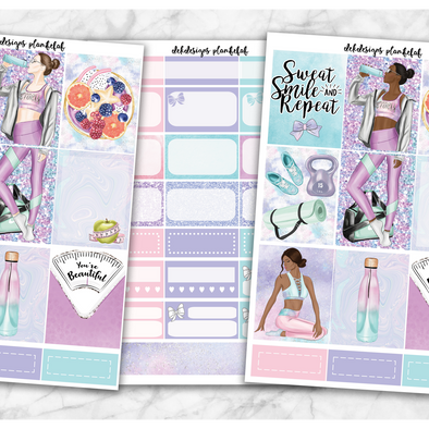 Workout Vibes - Deluxe Kit 6 Sheets - DEK Designs