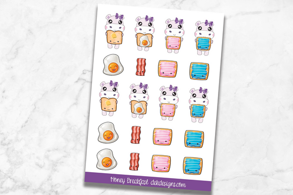 Honey Hippo - Breakfast - DEK Designs