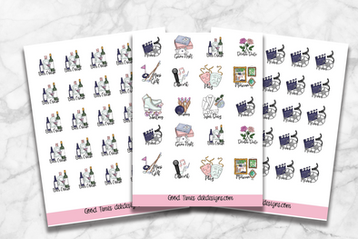 RTS-Good Times Collection - 2019 Planner Icons