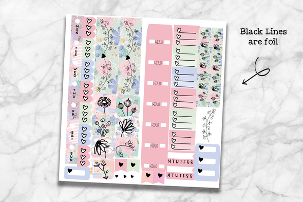 Hobo Weeks - Summer Planner Girl - DEK Designs