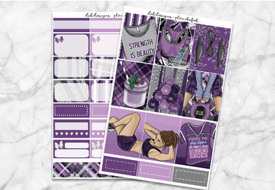 Strength is Beauty-Mini Kit 2 sheets - DEK Designs
