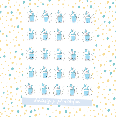 Kawaii Drink Your Water - DEK Designs