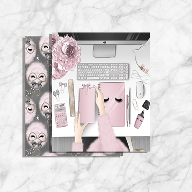 Dashboard Blushing Planner Girl